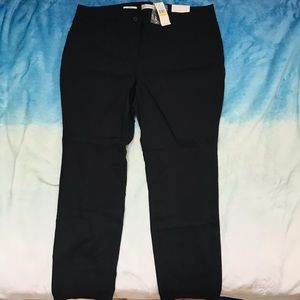 Van heusen Ladies Black Dress Pant Slim Fit